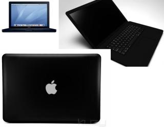 black mac computer