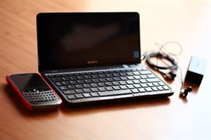 Picture of Sony Vaio VGN-P23G  Slim and Light Pocket PC