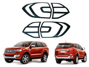 Picture of Ford Everest/Ranger 2016-18 Headlight/Taillights Garnish OEM Matte Black