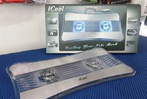 Picture of Aluminum Dual Fan Laptop Cooling Pad